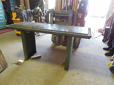 Powermatic drill press production table/ clausing machine base , drill press