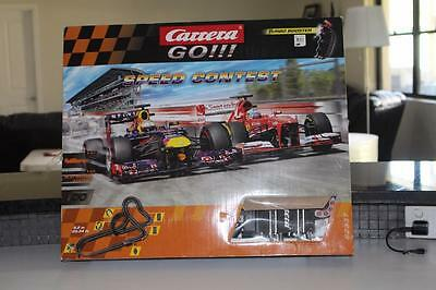 Carrera Go 62337 SPEED CONTEST with 2 Cars Race Track Slot Set 1:43