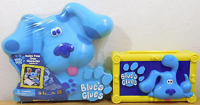 New Blues Clues Create Your Own Characer Activity Box Dog Shape & Pencil Box