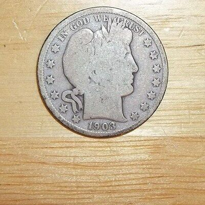 1903 O Barber Half Dollar 50 Cents