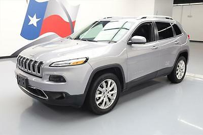 2016 Jeep Cherokee  2016 JEEP CHEROKEE LIMITED 4X4 REAR CAM BLUETOOTH 23K #250449 Texas Direct Auto