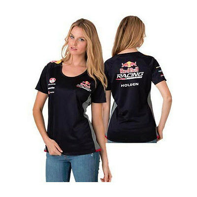 Red Bull Racing Australia 888 Ladies Team T-Shirt Tee Navy Size 8 10 14 16 18