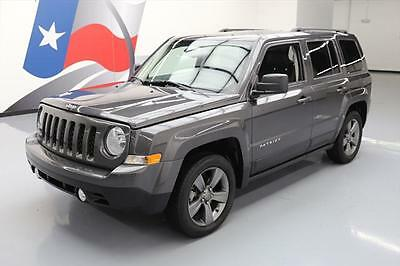 2015 Jeep Patriot  2015 JEEP PATRIOT HIGH ALTITUDE SUNROOF HTD LEATHER 26K #157183 Texas Direct