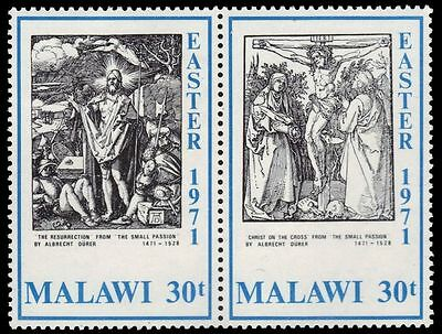 "MALAWI 172b (SG394a) - ""The Resurrection"" by Albrecht Durer (pa79801)"