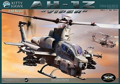 Kitty Hawk  1/48 Bell AH-1Z 'Viper' Super Cobra #80125 *New*Sealed*