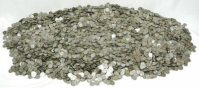$100 face value Mercury Dimes (1,000 dimes) 90% Silver - FREE shipping