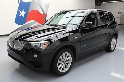 2017 BMW X3 xDrive28i Sport Utility 4-Door 2017 BMW X3 XDRIVE28I AWD TURBO PANO SUNROOF NAV 14K MI #T20700 Texas Direct