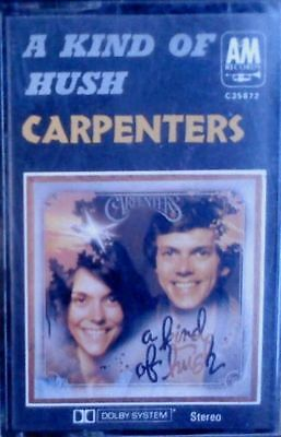 The Carpenters A KIND OF HUSH Pop Music Cassette Tape 1976