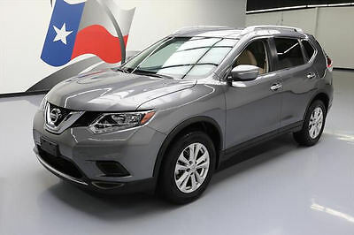 2015 Nissan Rogue  2015 NISSAN ROGUE SV REARVIEW CAM ALLOY WHEELS 24K MI #506145 Texas Direct Auto