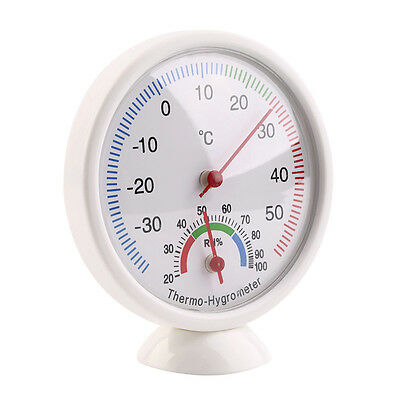 1x Analog Humidity Monitor Indoor Hygrometer Thermometer Temperature Meter