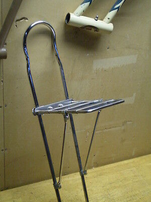 Mighty Mac Stingray Bicycle Banana Seat Mounted Rack Schwinn Murray Raleigh &