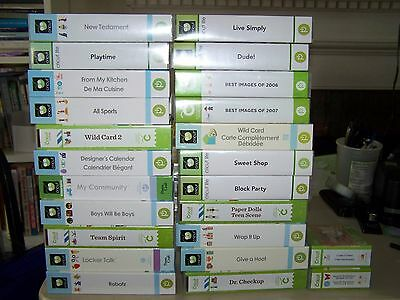 Your choice! multiple cricut cartridges! Many to choose from! cartridge
