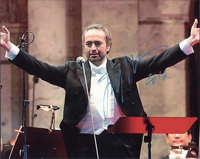 Jose Carreras THE THREE TENORS  hand signed 8x10 autograph photo signed