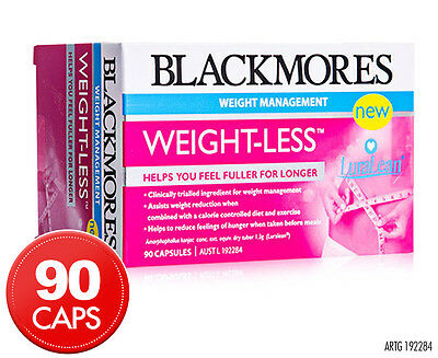 Blackmores Weight-Less 90 Capsules