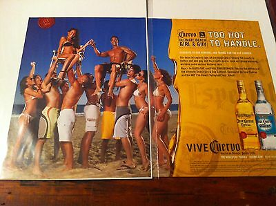 2007 Jose Cuervo Ultimate Beah Girl & Guy Too Hot To Handle Contest Print ad