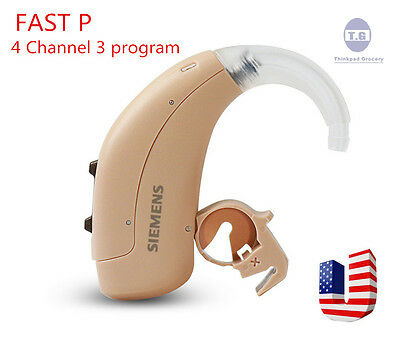 New 2018 UPDATE SIEMENS BTE FAST P Digital Hearing Aid,Better Than Touching