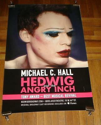 Hedwig And The Angry Inch Broadway Nyc Michael C Hall 4Ft Poster #2