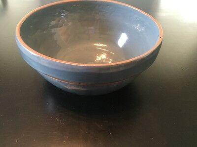 ByBee Pottery *Serving Bowl* *Green* *Kentucky Pottery*