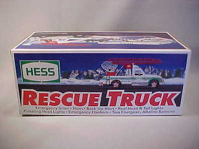 Hess Oil 1994 Rescue Truck New in Orig Box Unopened