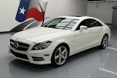 2012 Mercedes-Benz CLS-Class Base Sedan 4-Door 2012 MERCEDES-BENZ CLS550 SUNROOF NAV REAR CAM 46K MI #046483 Texas Direct Auto