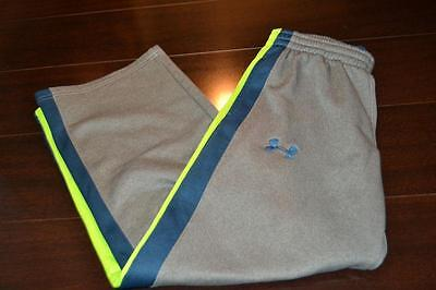 3730-g Kids Boys Under Armour Athletic Pants Size Youth M Medium Gray