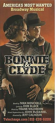 LAURA OSNES of BANDSTAND and JEREMY JORDAN of NEWSIES in BONNIE & CLYDE 2011