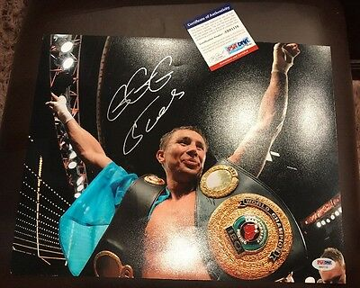 """GGG GENNADY GOLOVKIN AUTOGRAPHED 11"""" x 14"""" Signed PHOTOGRAPH PSA/DNA COA"""