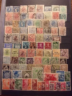 Roumanie Lot 91 Timbres Tres Anciens. Forte Cote