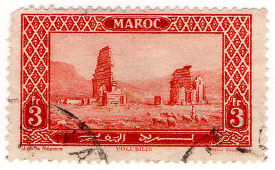 (I.B) French Morocco Postal : Pictorial 3Fr