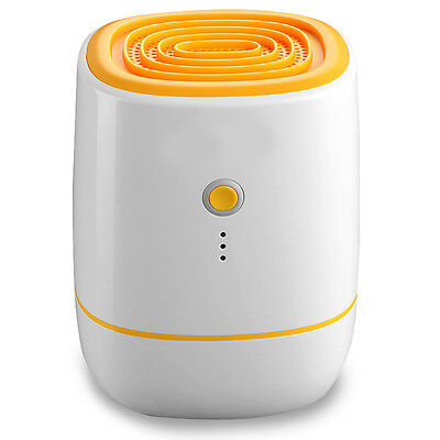 Yellow 500ML Mute Portable Purification Home Basement Electric Air Dehumidifier