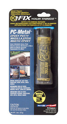 PC Products 25550 PC-Metal Moldable Epoxy Putty, 2 oz Stick, Dark Gray
