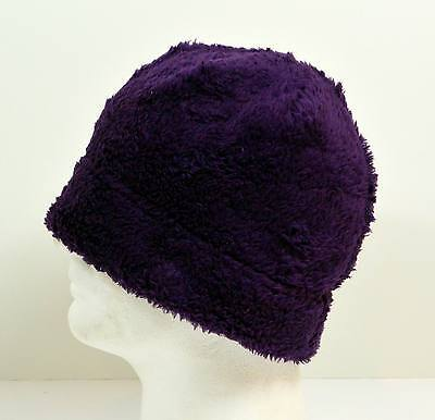 NEW Women Winter Beanie Fleece Skull Ski Cap Hat - Purple