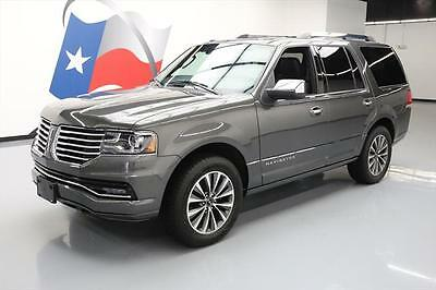 2016 Lincoln Navigator Select Sport Utility 4-Door 2016 LINCOLN NAVIGATOR SELECT ECOBOOST SUNROOF NAV 44K #L01771 Texas Direct Auto