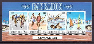 Barbados MiNr. Block 23 postfrisch/ MNH Olympiade 1988 Seoul (Oly924