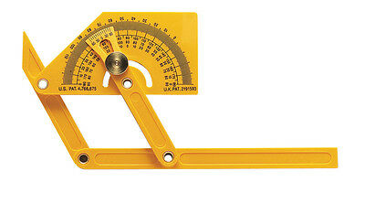 General Tools  Protractor  3-3/4 in. W x 8-5/8 in. L Plastic
