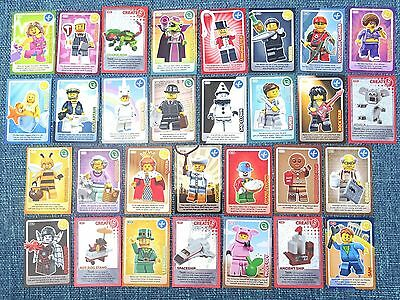 lot3).. 30x Sainsbury's LEGO CARDS.. ALL INCLUDED.. Collection.. Swap. EXCELLENT