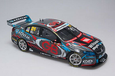 1:18 Biante - 2014 Holden VF Commodore COTF - #21 Wood/Pither - Team Advam