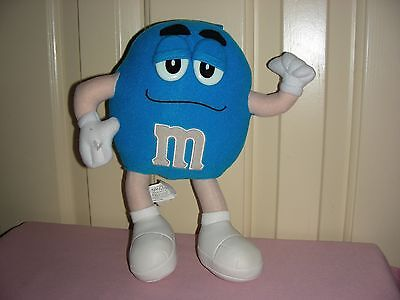 M&M Candy Plush – blue m - (Mars, Inc / Nanco)