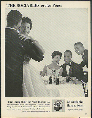 They share their fun with friends Pepsi-Cola ad 1960 Negro dance party