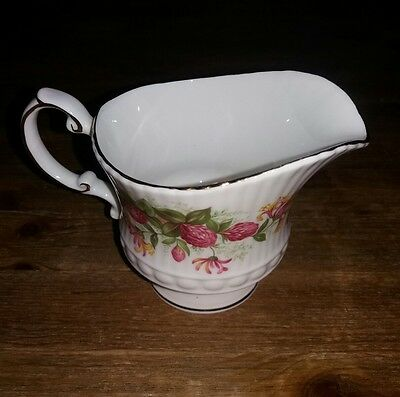 "Vintage Queens Rosina China ""Woman and Home"" milk jug"