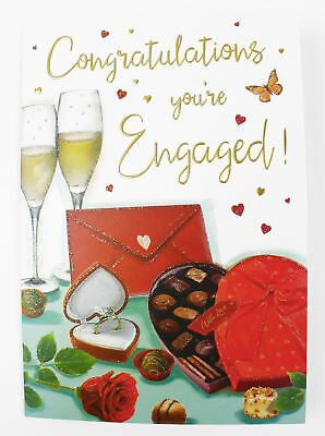 Congratulations engagement greeting card envelope seal couple congratulations engagement greeting card envelope seal couple celebration love m4hsunfo