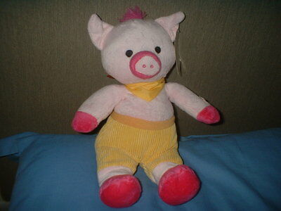 Soft Toy - Animated Pig - Sings Old MacDonald - Legs Move -Tested New With Tags