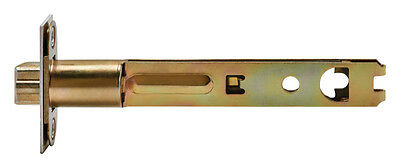 Kwikset  Interior  Steel  Polished Brass  Door Latch