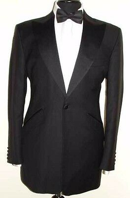 Luxury Mens William Hunt Savile Row Dinner Tuxedo Suit 40R W32 L32