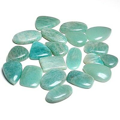 Amazonite 500 Cts Wholesale Lot Gemstone Cabochon Loose Cab AUK02