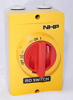 NHP Katko ISO-363MY 63A Metal Isolating Switch