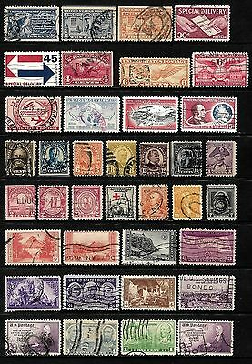 United States.  .a Splendid Collection Of Stamps From The United States  ..80900