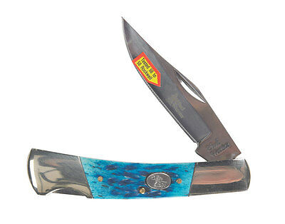 Frost Cutlery  Barracuda  Stainless Steel  Pocket Knife  3-1/2 in. L Blue