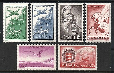 [MoC002]  Monaco 1942 Airmail Issue MNH