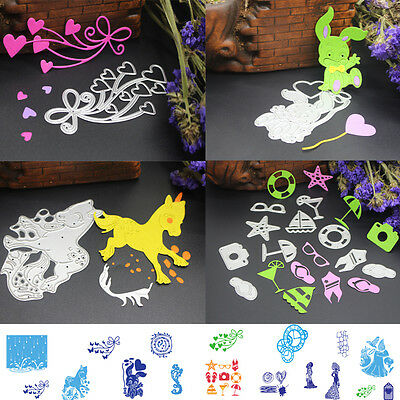 Metal Cutting Dies Stencil DIY Scrapbooking Album Paper Card Embossing Craft O9